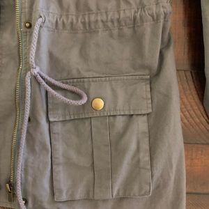 Market & Spruce Jackets & Coats - Chaplin Hooded Anorak Cargo Jacket - M